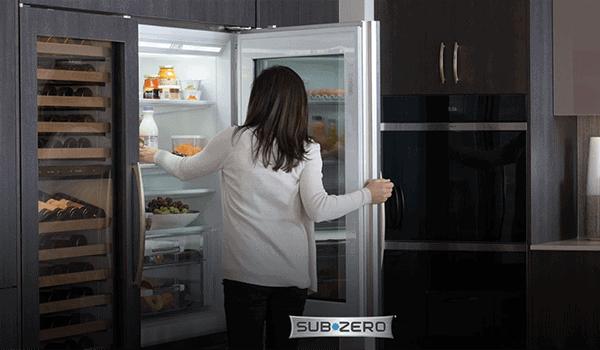 sub-zero full size refrigerator reviews