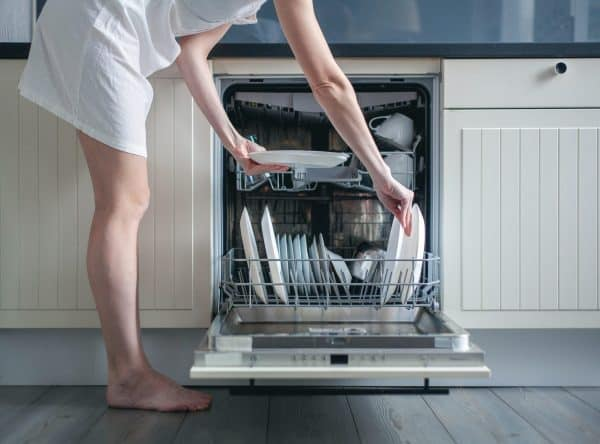dishwasher is loud